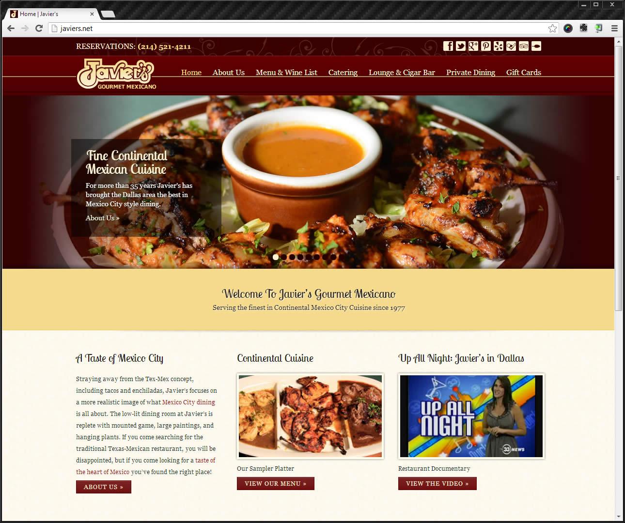 Javier's Website