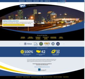 GCR Inc. Website