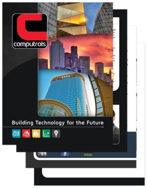 Computrols Sales Collateral Brochure