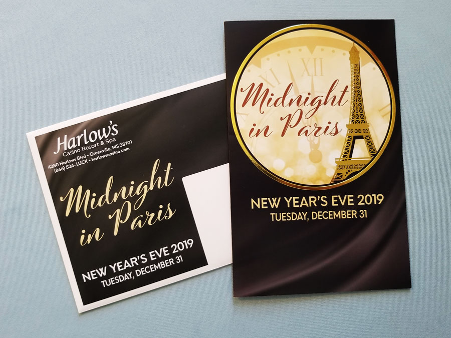 Harlow's New Year's Eve Invite
